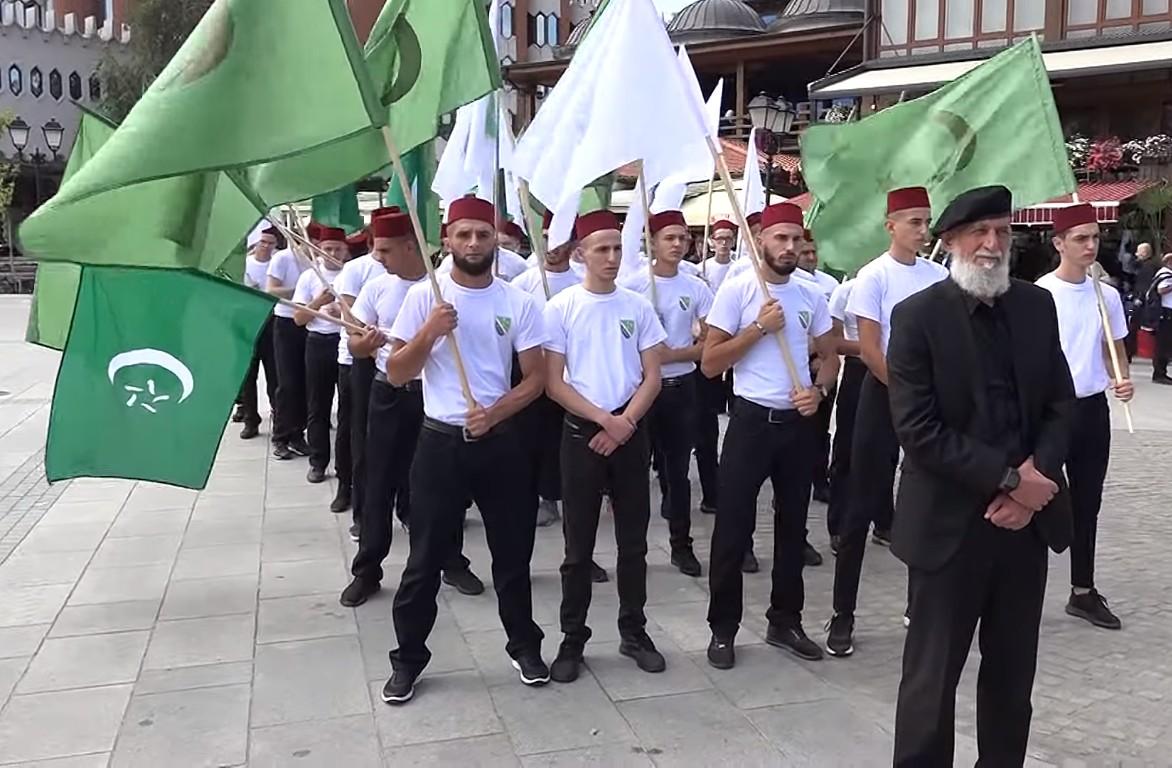 Bošnjački pohod na Hadžet, Novi Pazar (Foto: Snimak ekrana/Jutjub)