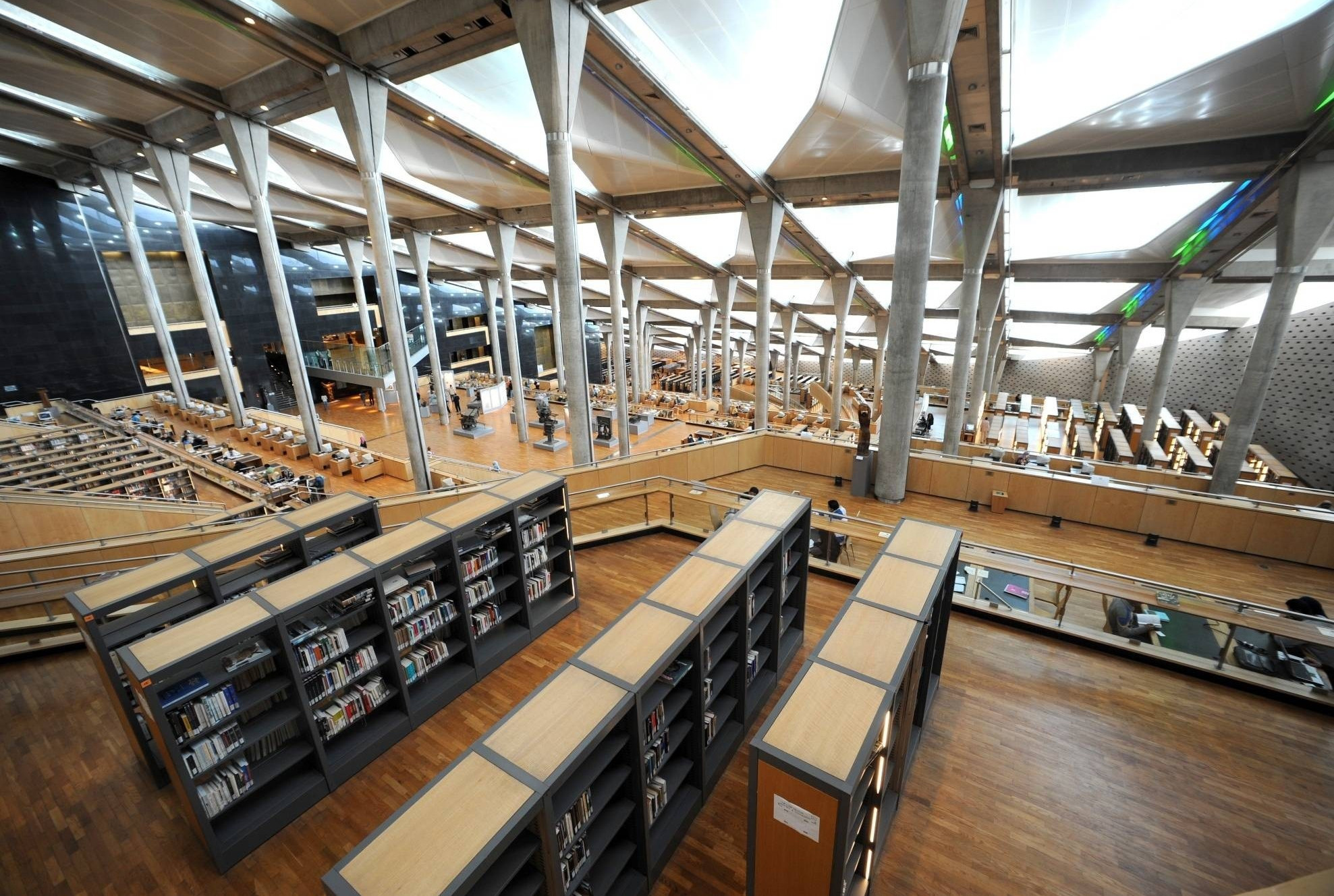 Библиотека Александрина у Александрији, Египат