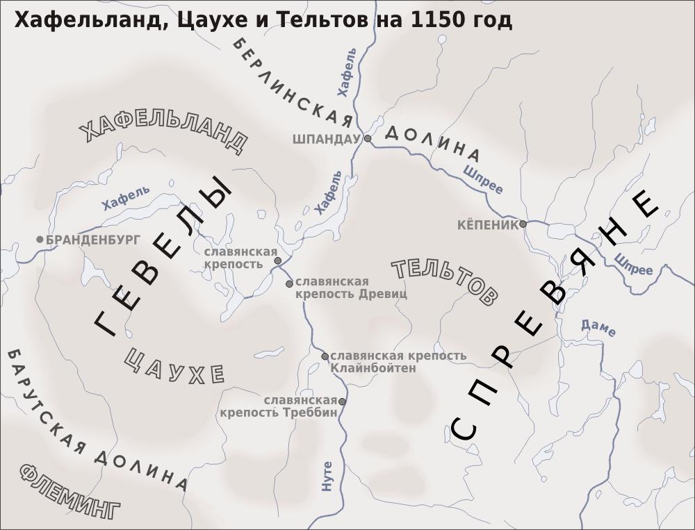 Mapa Jakšinog vojvodstva