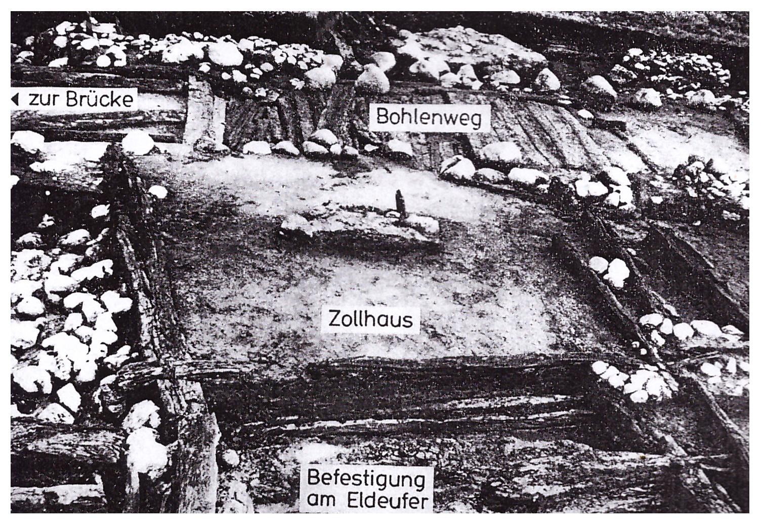 Rekonstrukcija tvrđava Špandau u 10. veku prema Hermanu (Foto: Božidar Zečević)