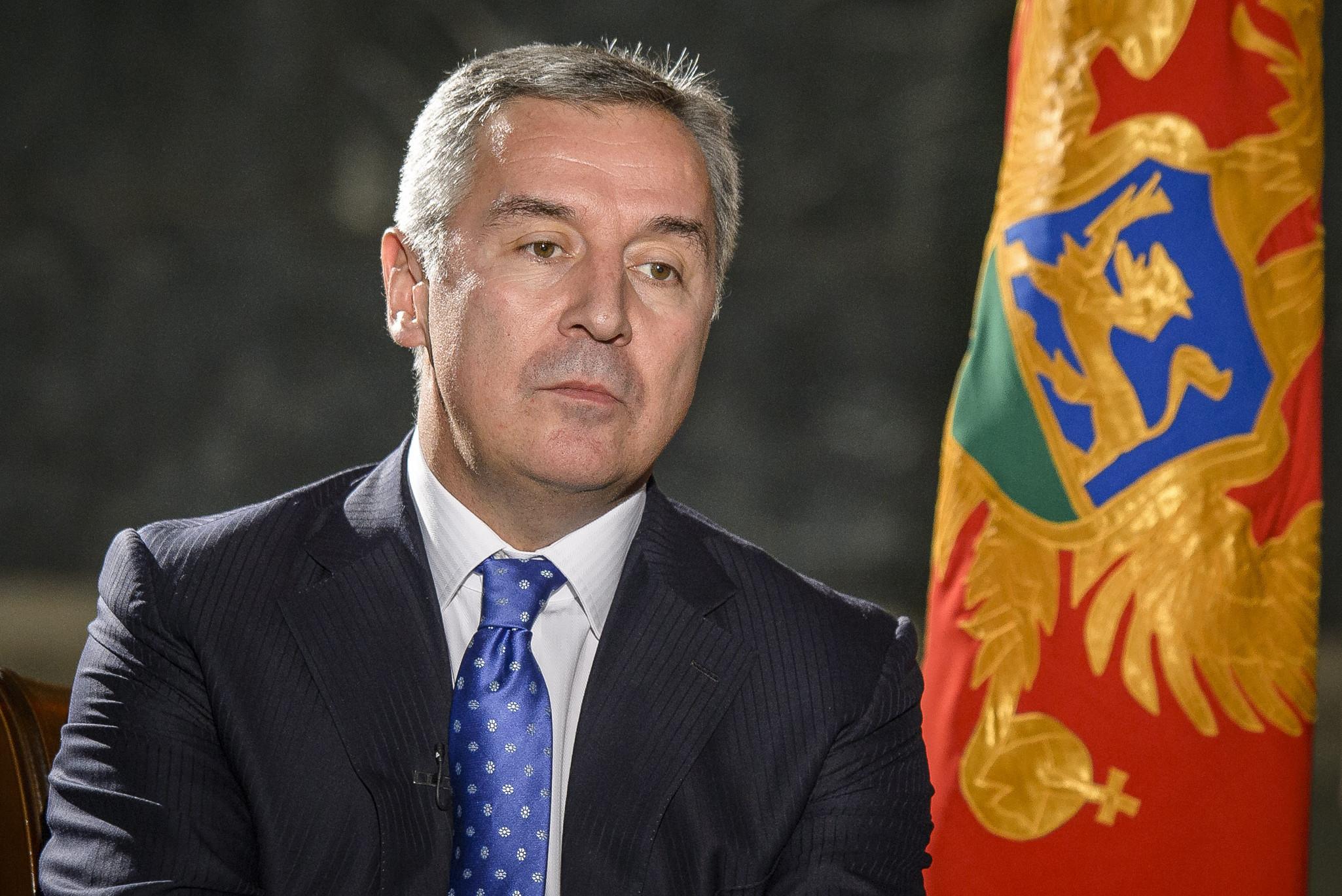 Председник Црне Горе Мило Ђукановић (Фото: oslobodjenje.ba)