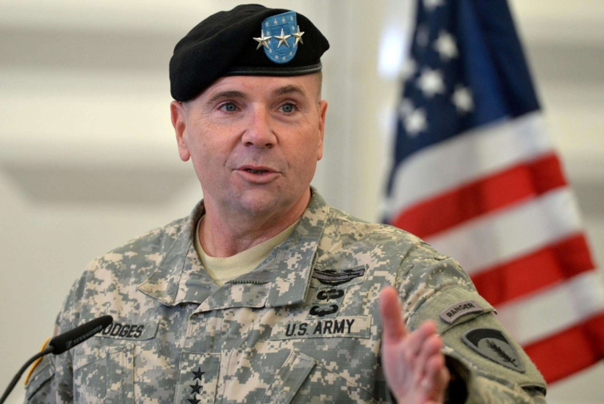 General potpukovnik Frenklin Ben Hodžis, bivši glavnokomandujući američkih kopnenih snaga u Evropi