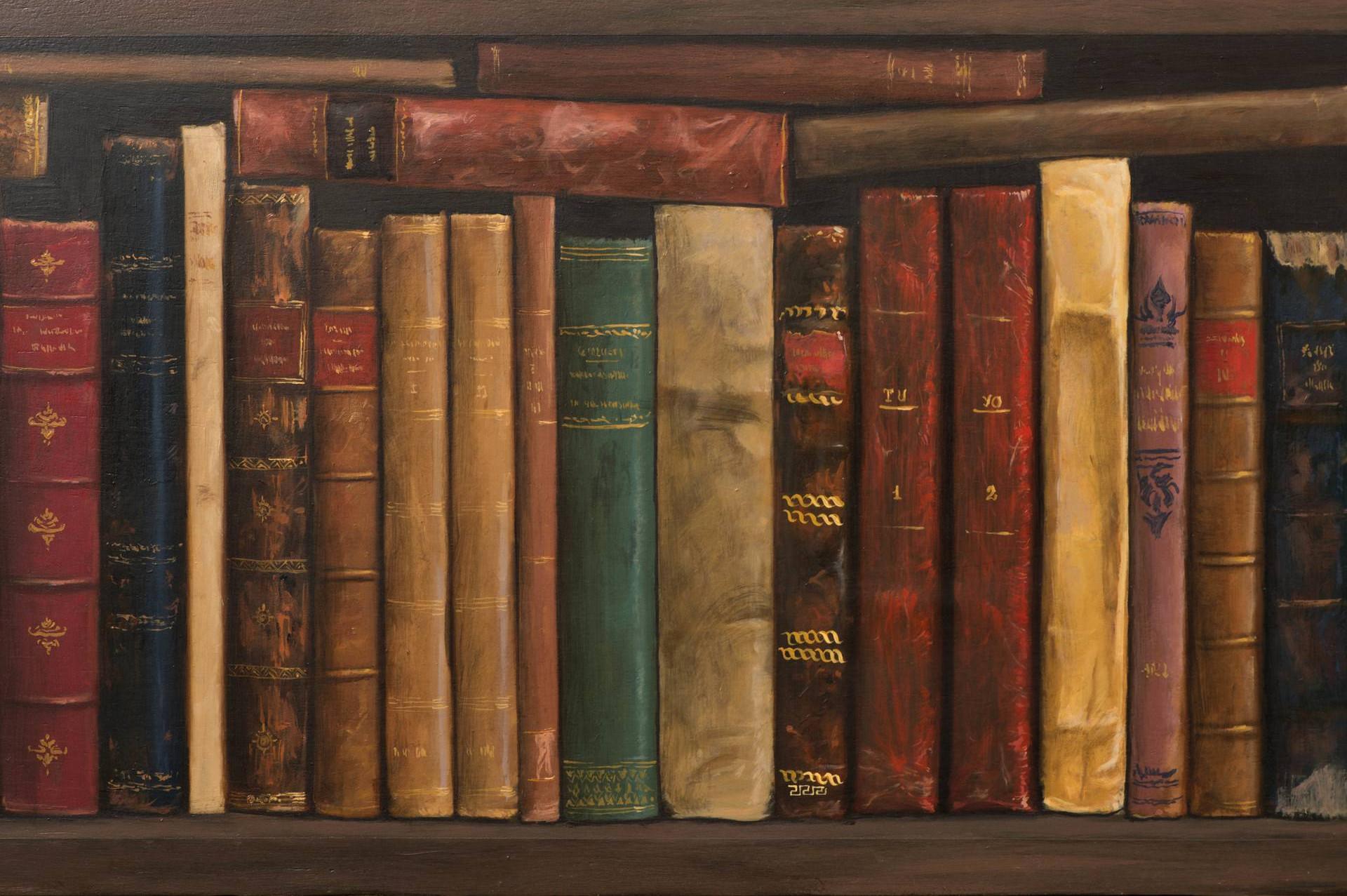 """""""Старе књиге"""", слика Хуана Алвареза Себриана"""