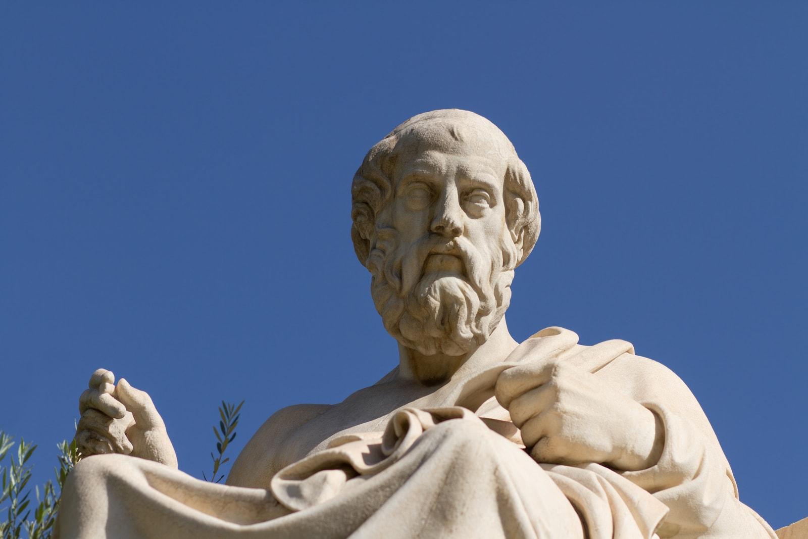 Статуа Платона у Атини