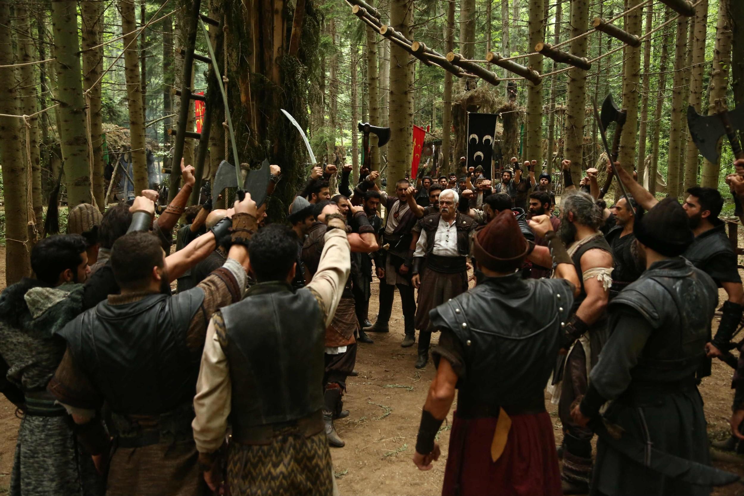 """Scena iz filma """"Turci dolaze. Sablja pravde"""" u kojoj su prikazane Osmanlije (Foto: imdb.com/Birkan YUKSEL)"""