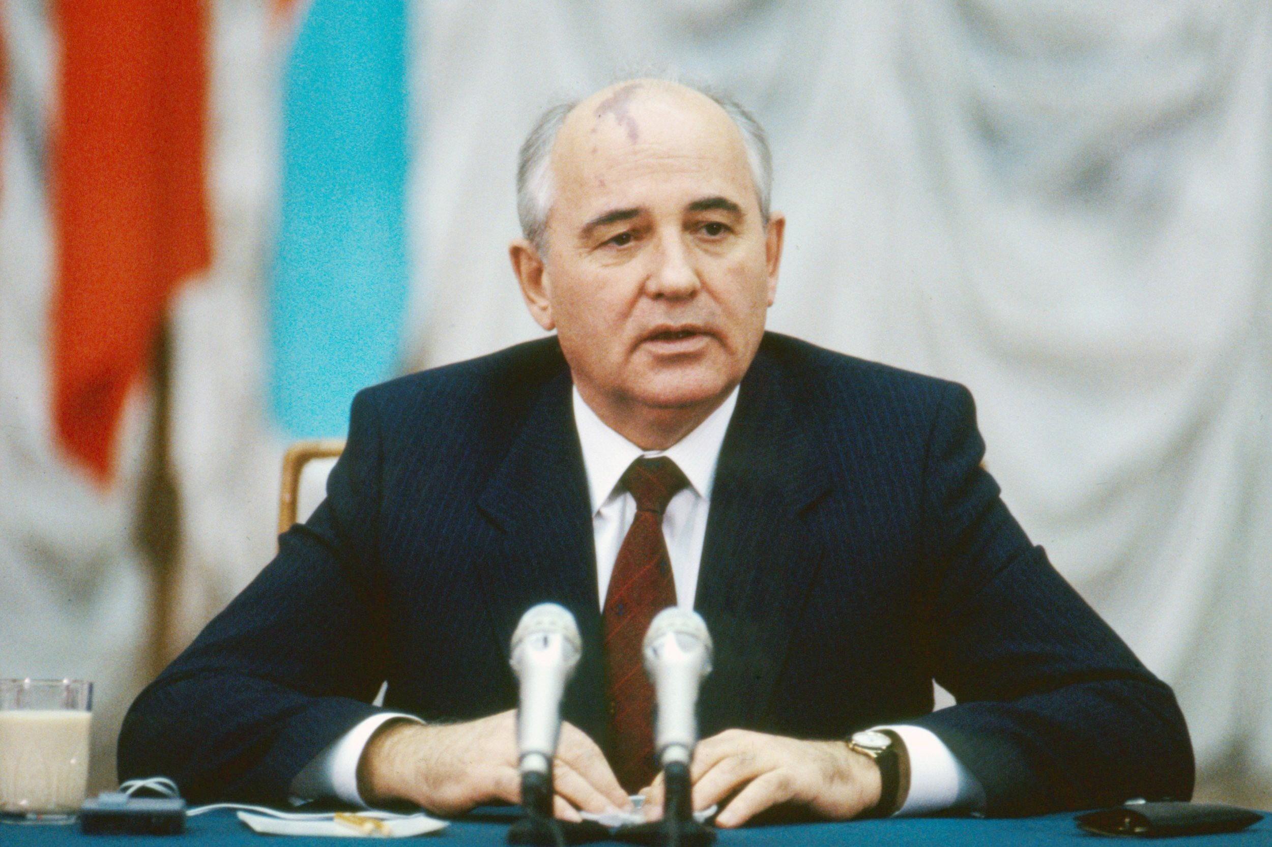 Михаил Горбачов, последњи комунистички лидер Советског Савеза (Фото: Getty Images)