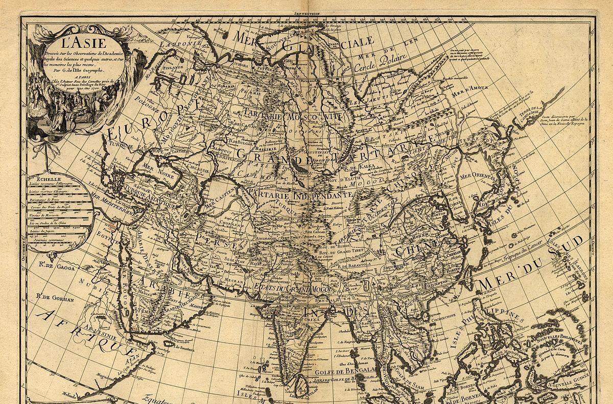 """Гијом Делалм, """"L'Asie"""", 1700. (Фото: Wikimedia)"""