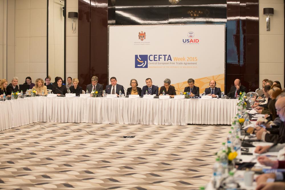 Заседање ЦЕФТА комитета током ЦЕФТА недеље у Молдавији 2015. (Фото: cefta.int)