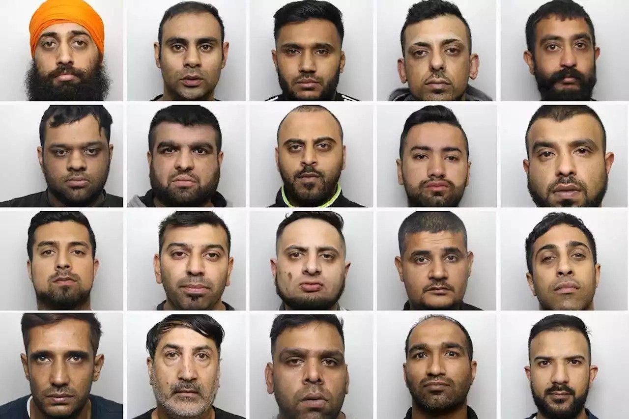 "Pripadnici takozvane ""hadersfildske bande"" (Foto: West Yorkshire Police)"