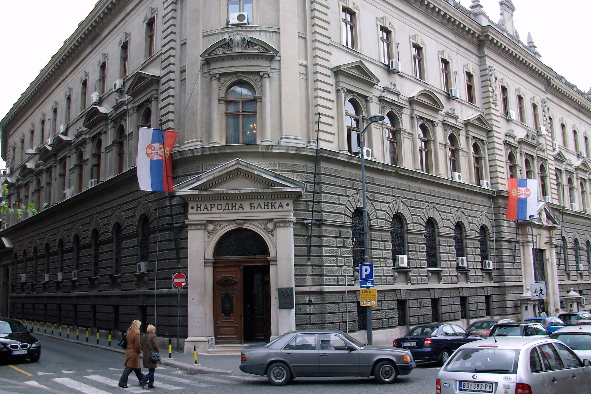 Зграда Народне банке Србије у улици Краља Петра у Београду (Фото: Wikipedia/PedjaNbg)