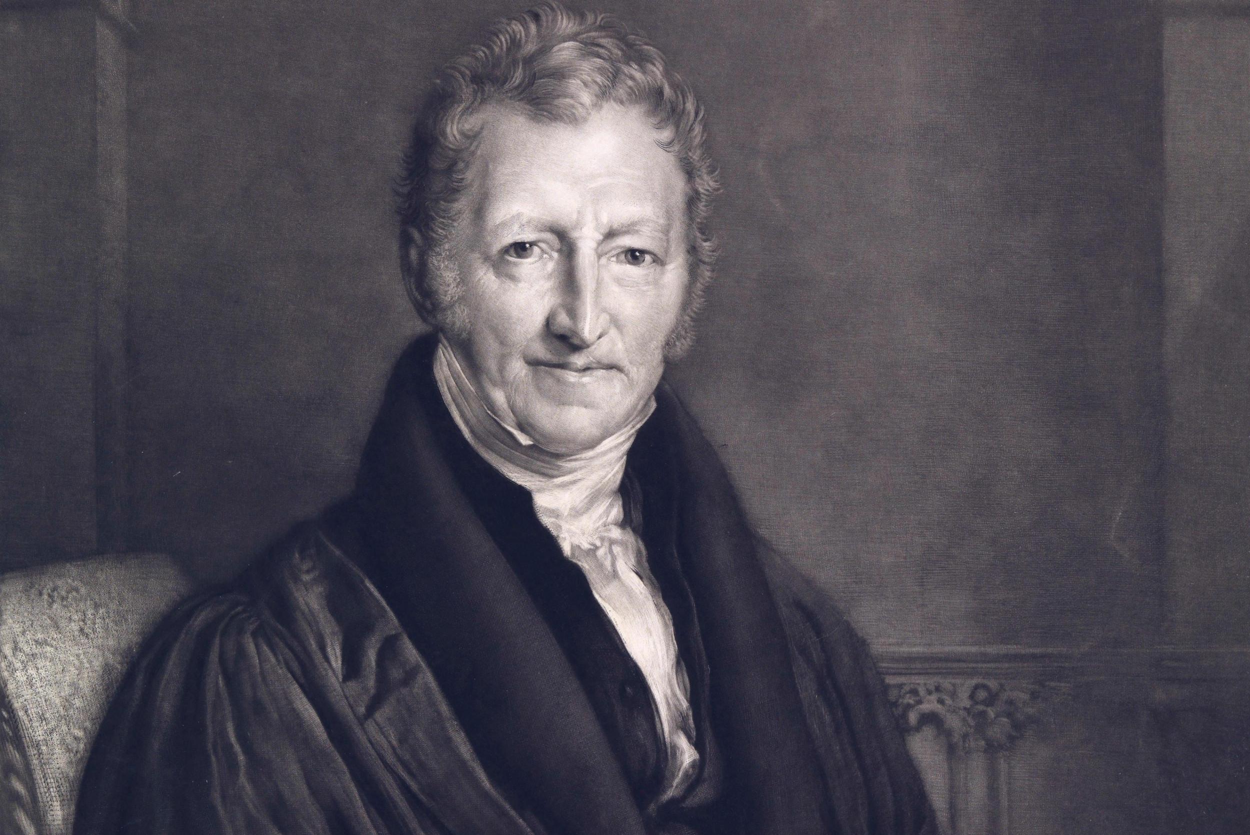 Engleski demograf i ekonomista Tomas Robert Maltus (Foto: Wikimedia)
