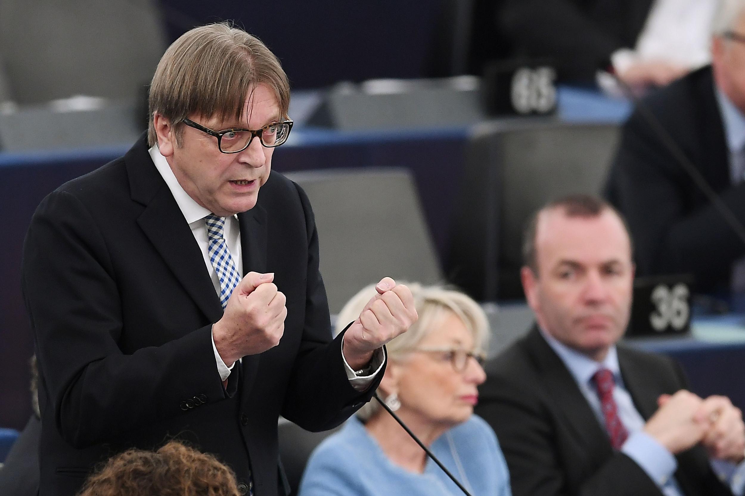 Посланик Европског парламента Ги Верхофстат (Фото: Frederick Florin/AFP via Getty Images)