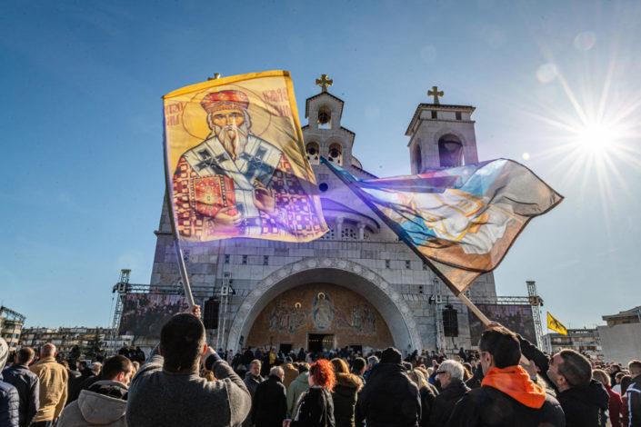 Izmenjen sporni zakon u CG, Cetinje spustilo zastave na pola koplja