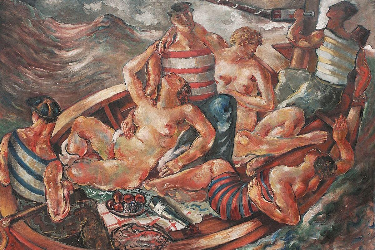 """Sava Šumanović, """"Pijana lađa"""", 1927. (Foto: Wikimedia)"""