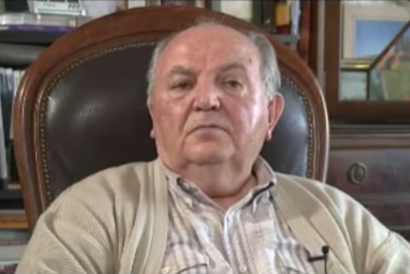 Živan Berisavljević (Foto: Snimak ekrana/Jutjub)