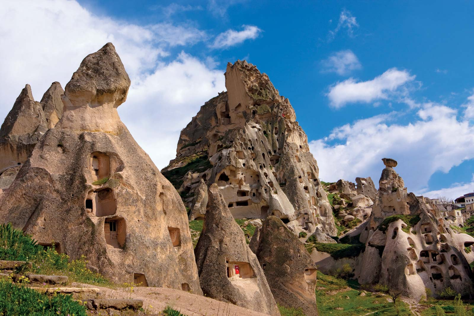 Napuštena pećinska skrovišta u Kapadokiji, Anadolija (Foto: tinzabo/Fotolia)