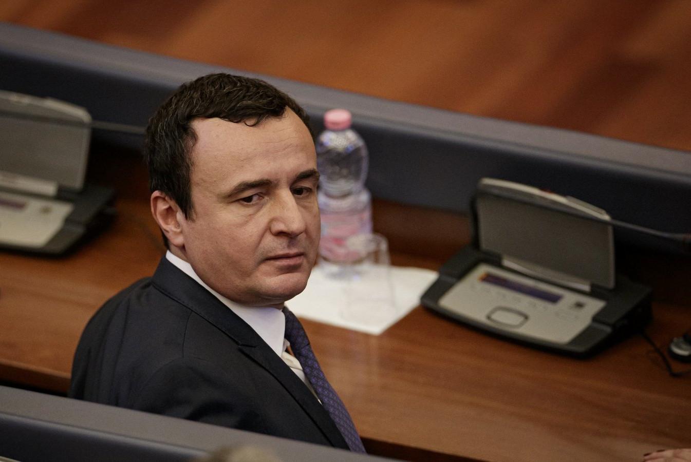 Аљбин Курти, бивши председник владе привремених институција у Приштини (Фото: EPA-EFE/VALDRIN XHEMAJ)