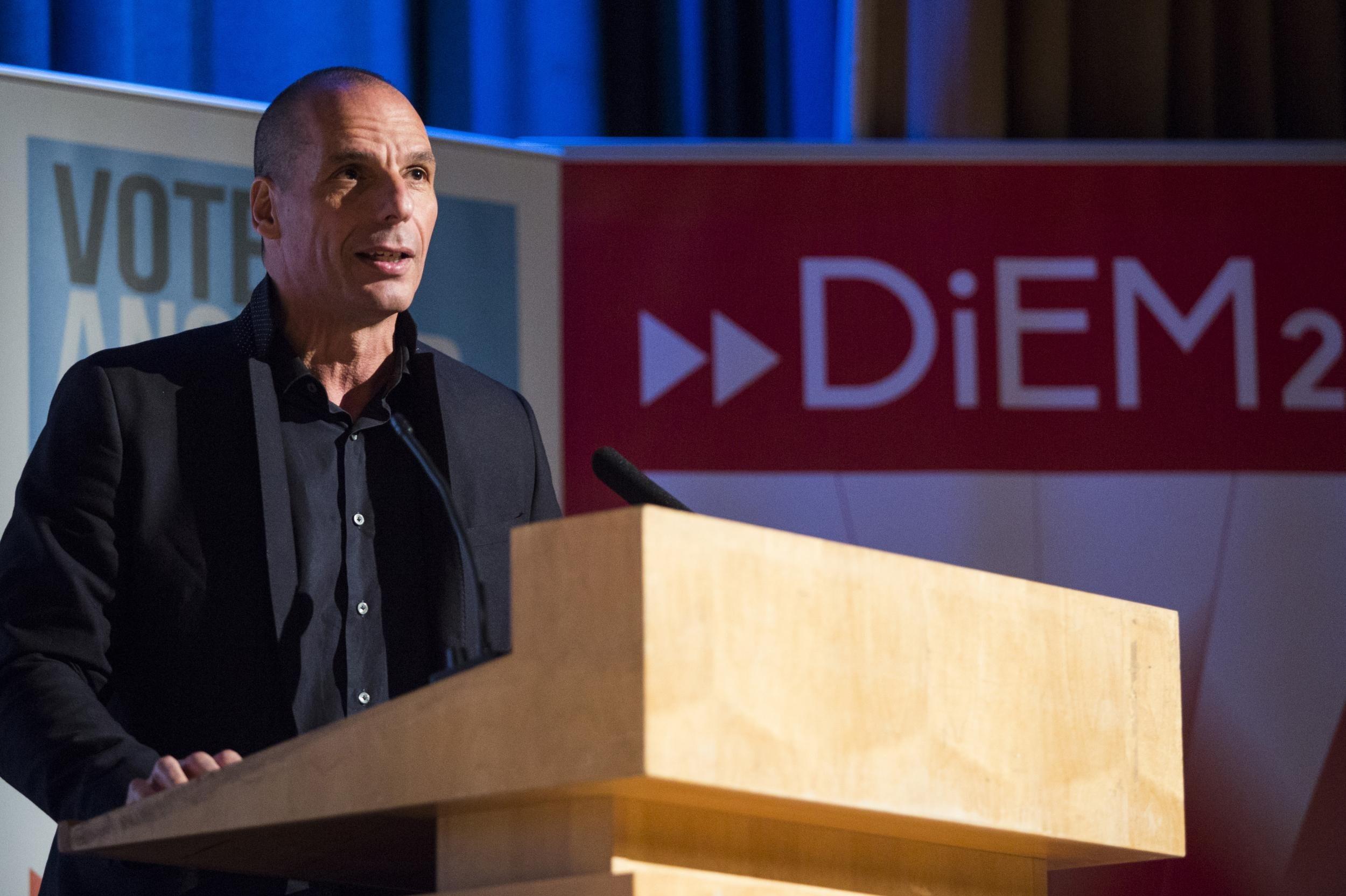 Бивши министар финансија Грчке Јанис Варуфакис (Фото: independent.co.uk)