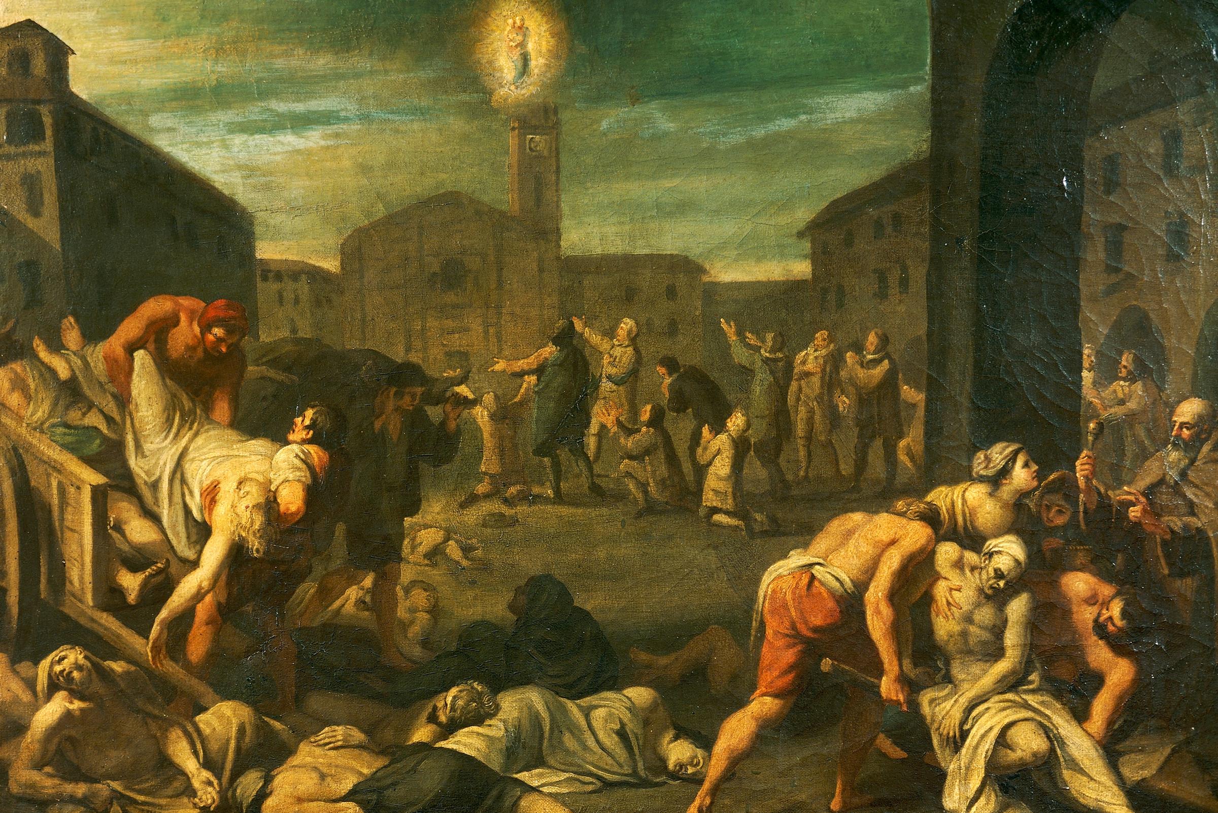 Prikaz kuge u Italiji iz 17. veka (Foto: De Agostini/Getty Images)