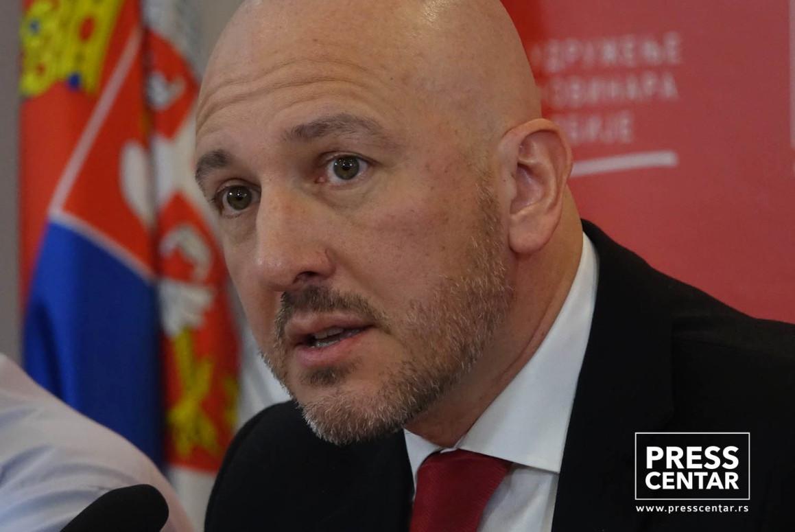 Sudija Apelacionog suda u Beogradu Miodrag Majić (Foto: Pres centar UNS)