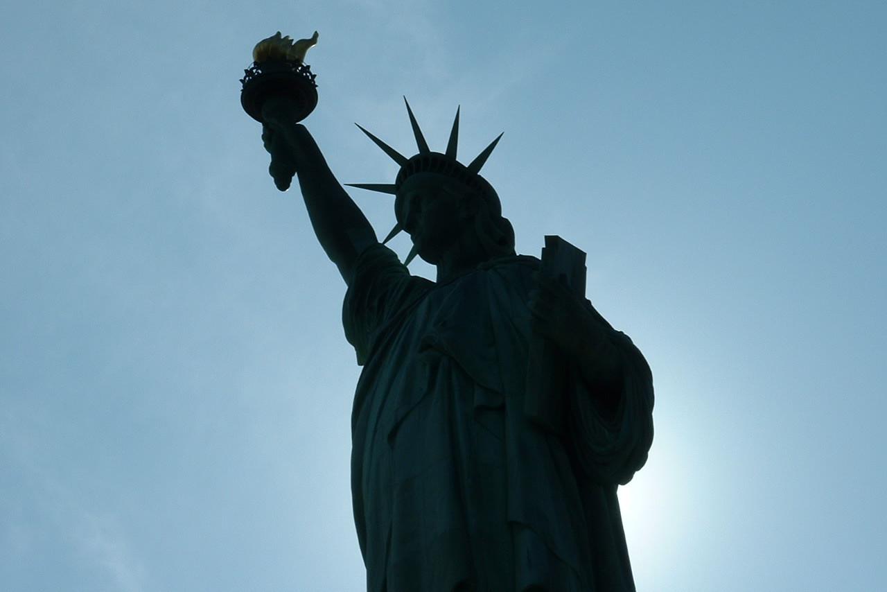 Statua slobode u Vašingtonu u senci (Foto: Pascual De Ruvo/Wikimedia)