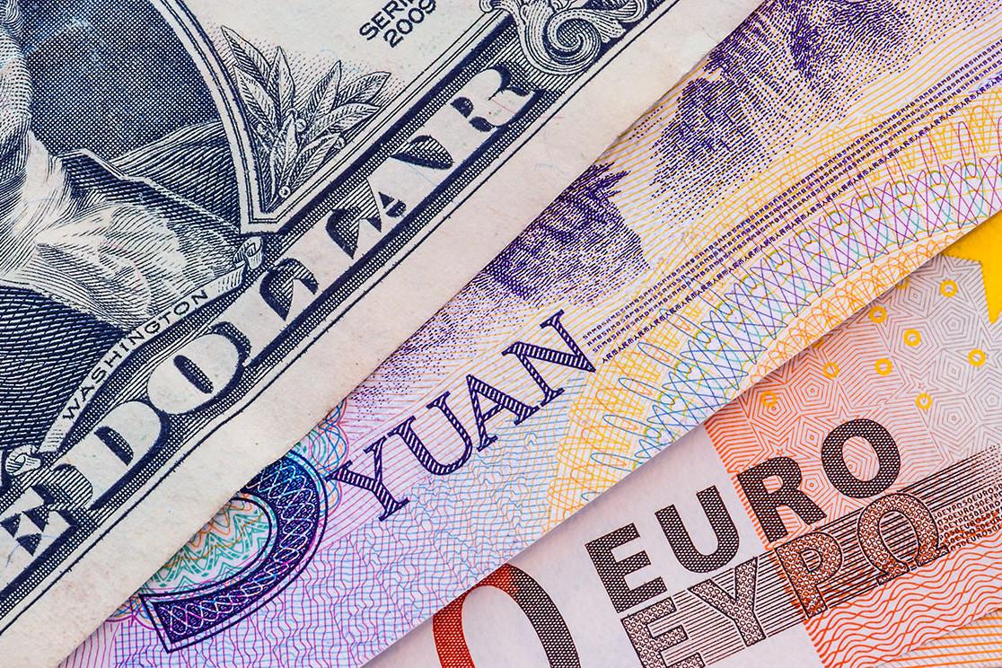Novčanice dolara, juana i evra (Foto: Shutterstock)