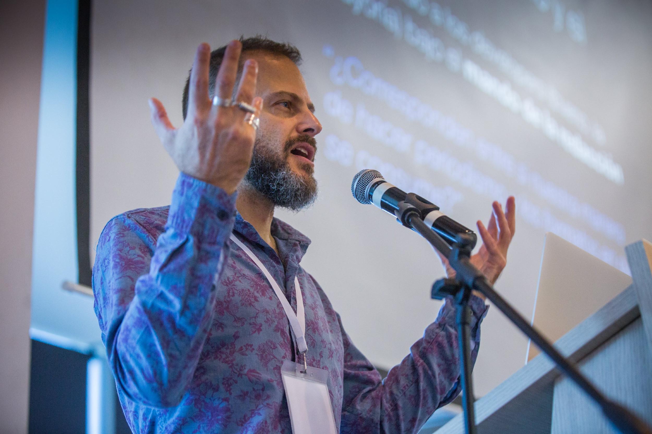 Gideon Ličfild, glavni i odgovorni urednik Em-Aj-Ti tehnološke revije (Foto: Rafael Bossio/ArchivoFNPI)
