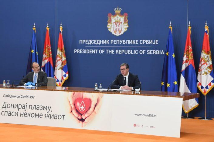 Vučić: Ostajemo na evropskom putu, spremni smo da uručimo pomoć zemljama EU