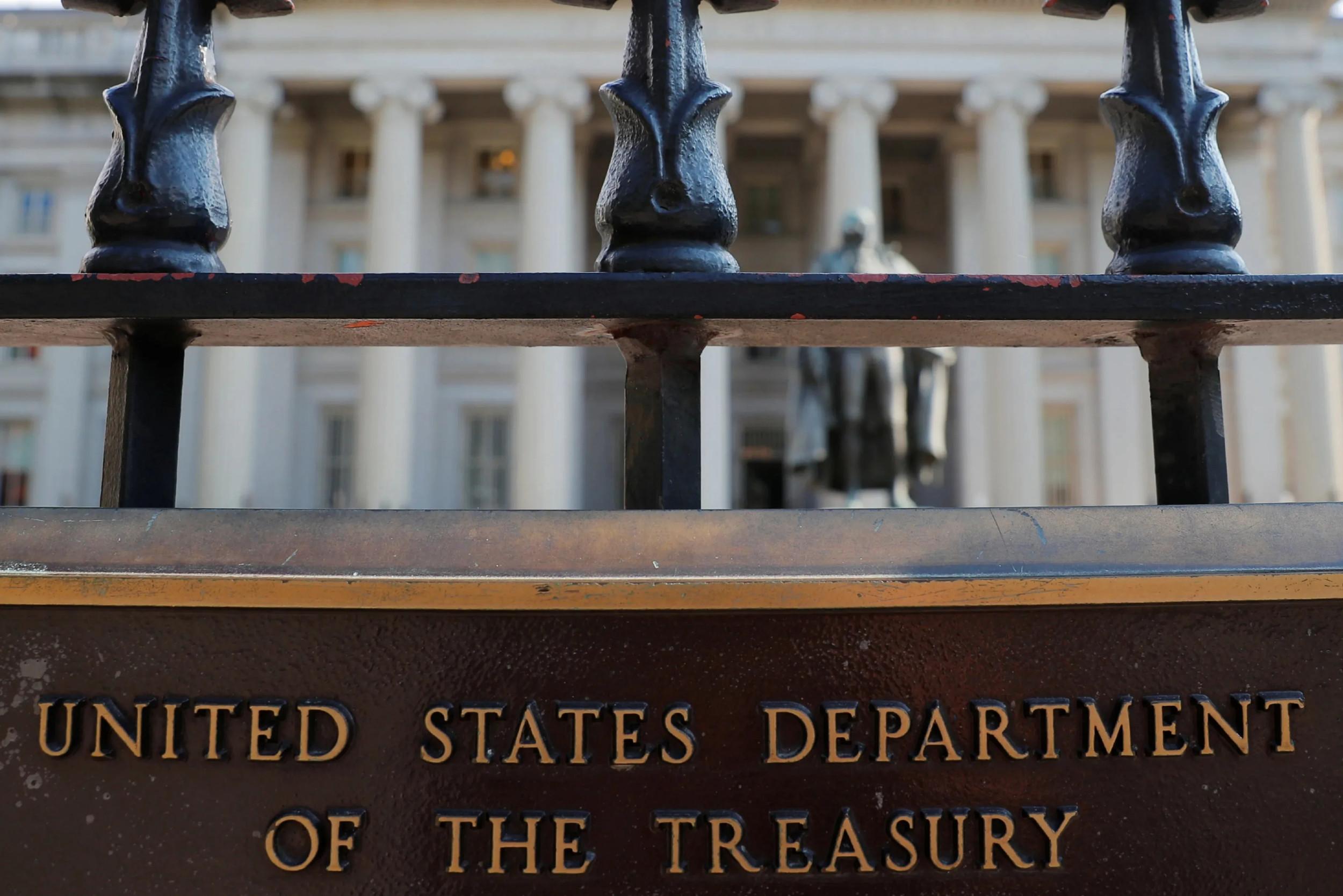 Zgrada ministarstva finansija SAD (Foto: Reuters)
