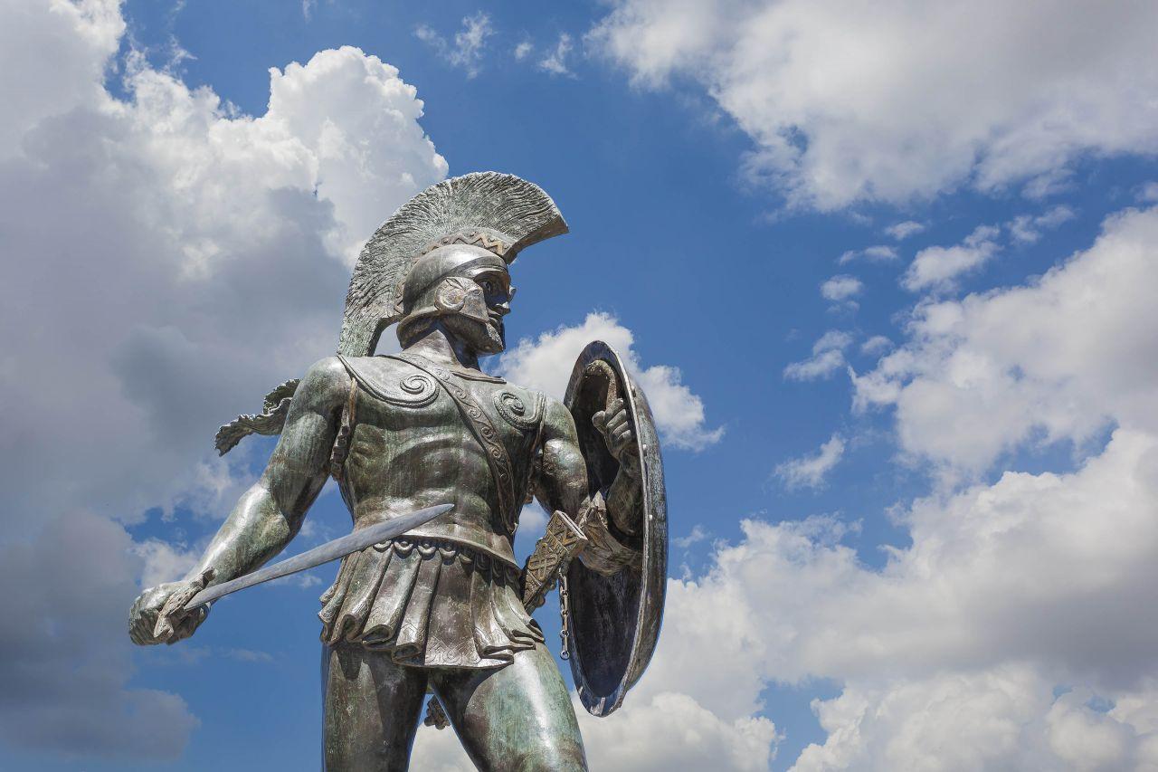 Statua Leonide, legendarnog kralja Sparte (Foto: tripadvisor.com)
