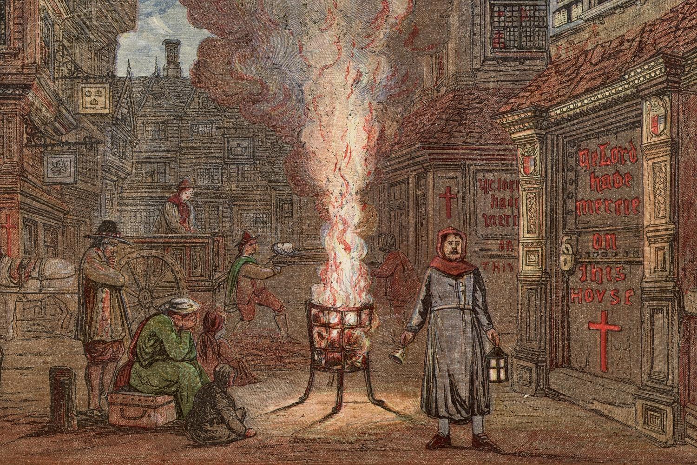 Гласноговорник позива људе да доведу своје мртве током Велике куге у Лондону 1665. (Фото: Hulton Archive/Getty Images)