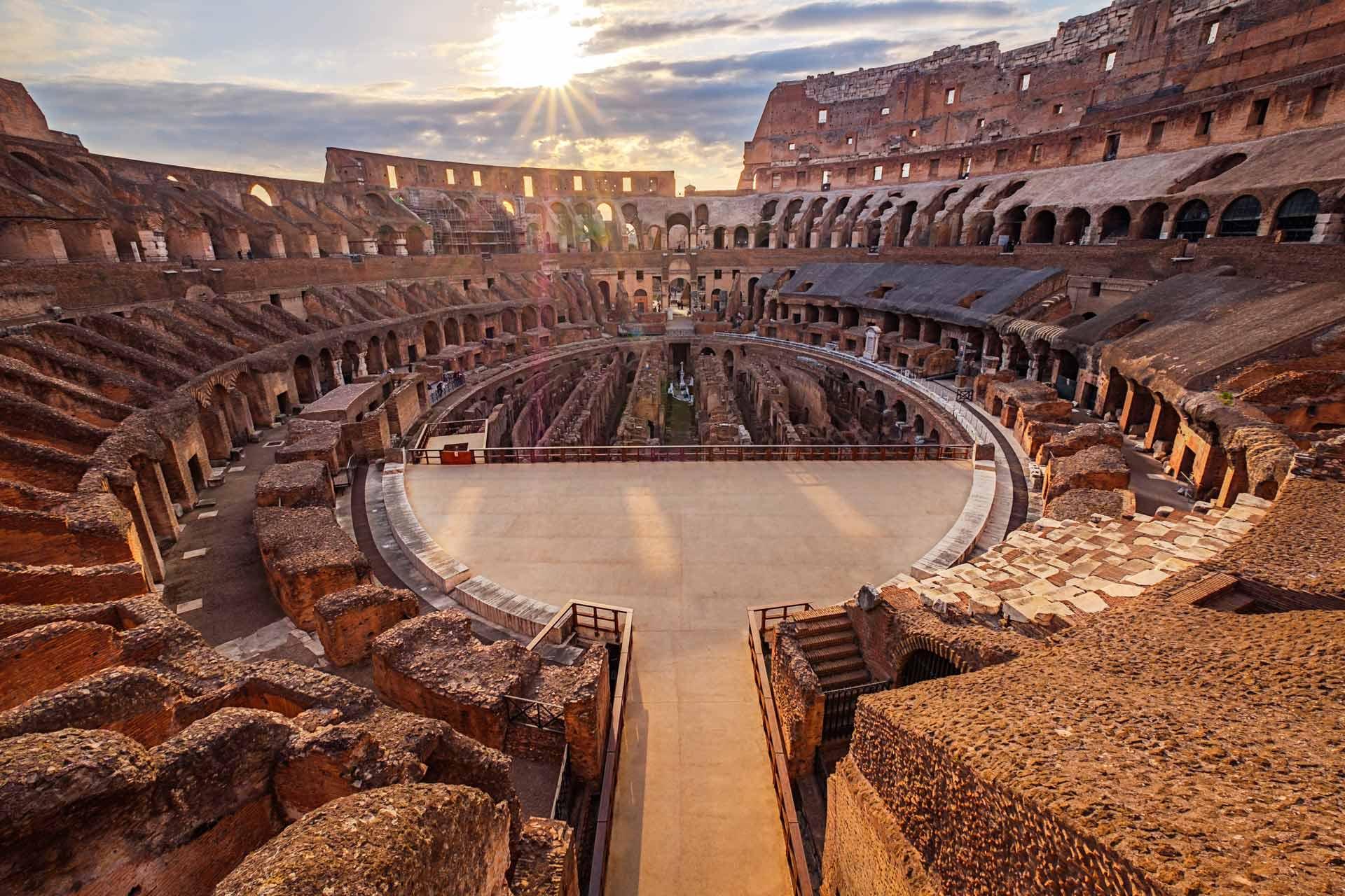 Prikaz rimskog Koloseuma (Foto: romanjews.com)