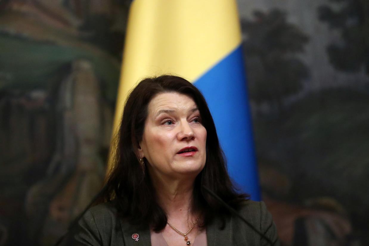 Ministarka spoljnih poslova Švedske En Linde (Foto: REUTERS/Evgenia Novozhenina)