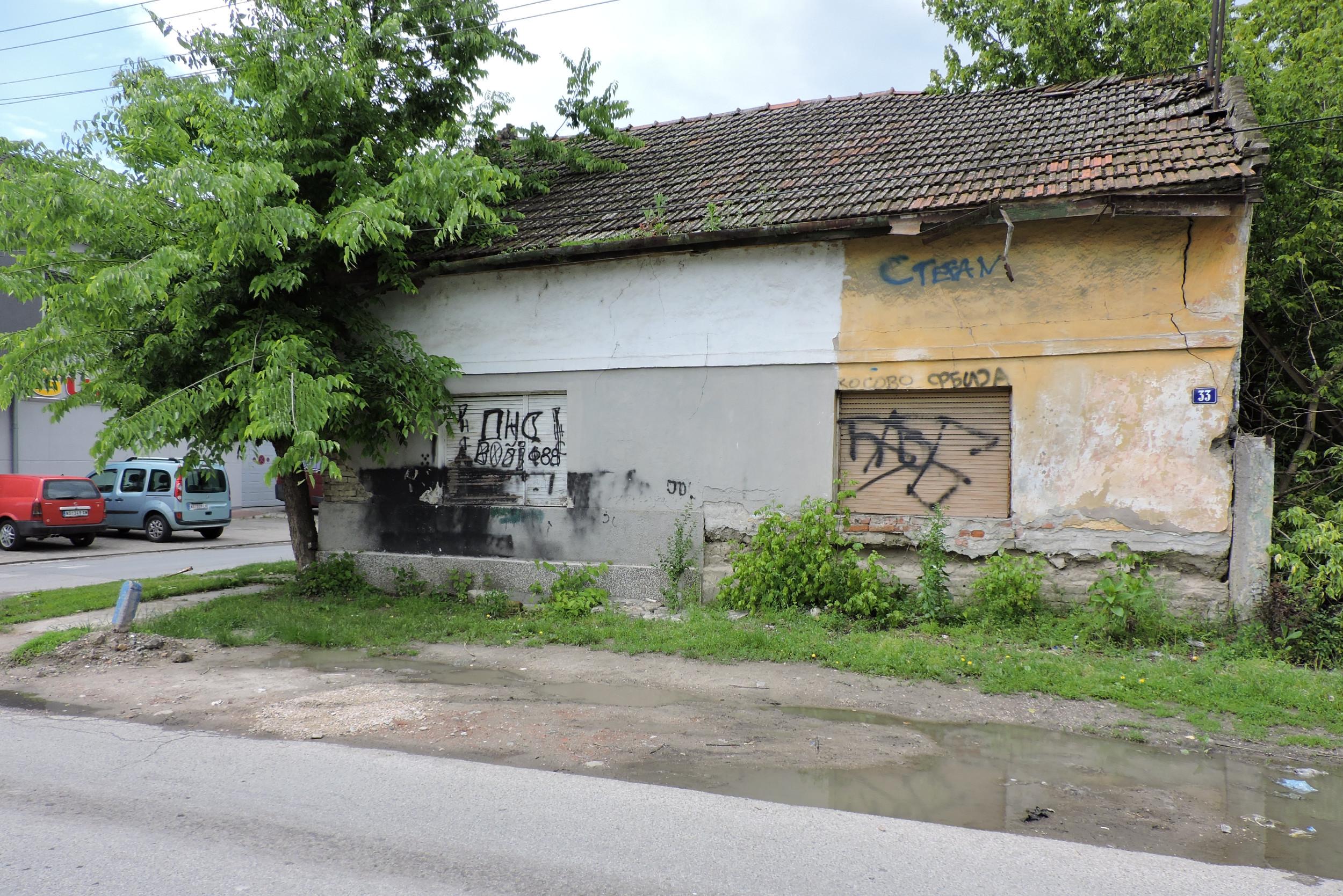 Кућа из које су на стрељање изведени чланови породице Перић (Фото: Ђорђе Србуловић/Нови Стандард)