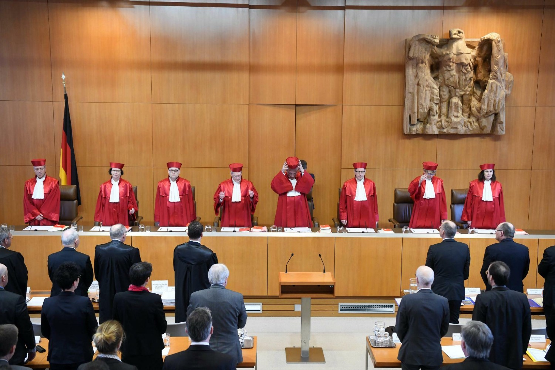 Zasedanje Saveznog ustavnog suda Nemačke (Foto: Uli Deck/DPA)