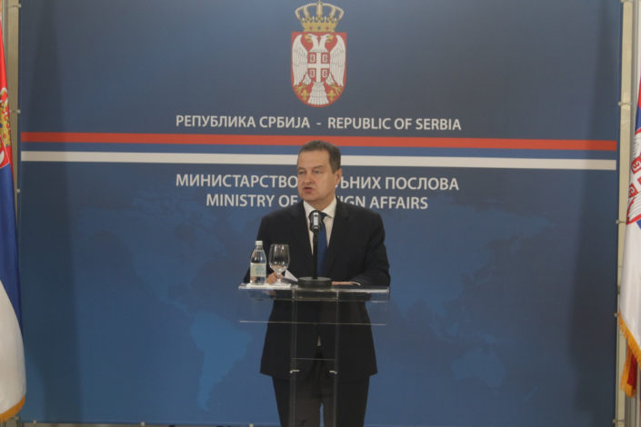 Dačić: Nije nam poznato da je EU spremila nacrt sporazuma, ali nije nemoguće