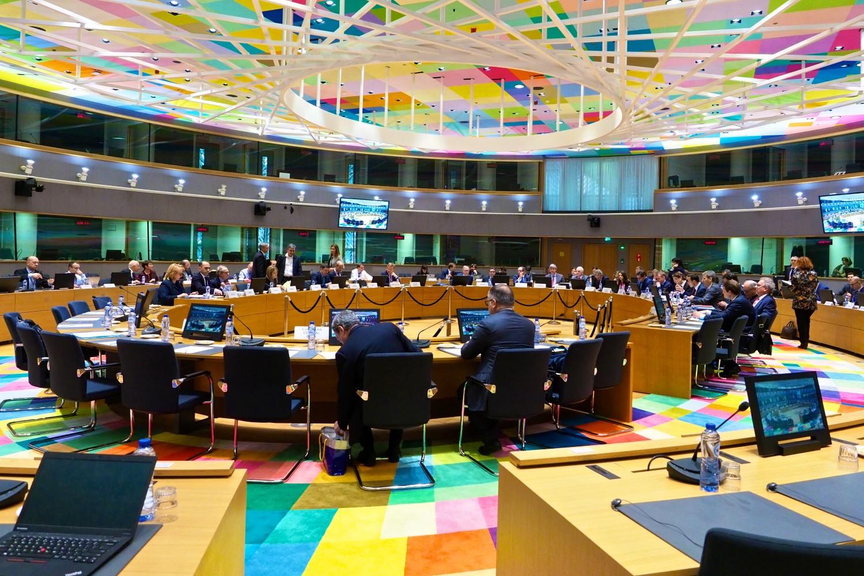 Sastanak ministara finansija država evrozone okupljenih u okviru Evrogrupe, Brisel, 19. februar 2018. (Foto: consilium.europa.eu)