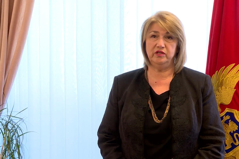 Predsednica Hrvatske građanske inicijative (HGI) Marija Vučinović (Foto: Snimak ekrana/Jutjub)