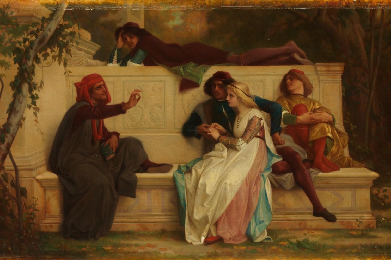 "Aleksandre Kabanel, ""Florentinski pesnik"", 1861. (Foto: metmuseum.org)"
