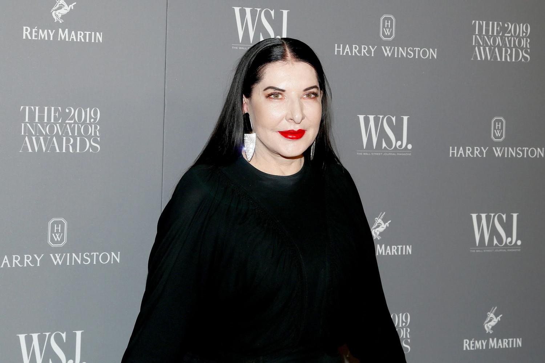 Марина Абрамович на једном коктелу у организацији Волстрит журнала 2019. године (Фото: Lars Niki/Getty Images for WSJ)