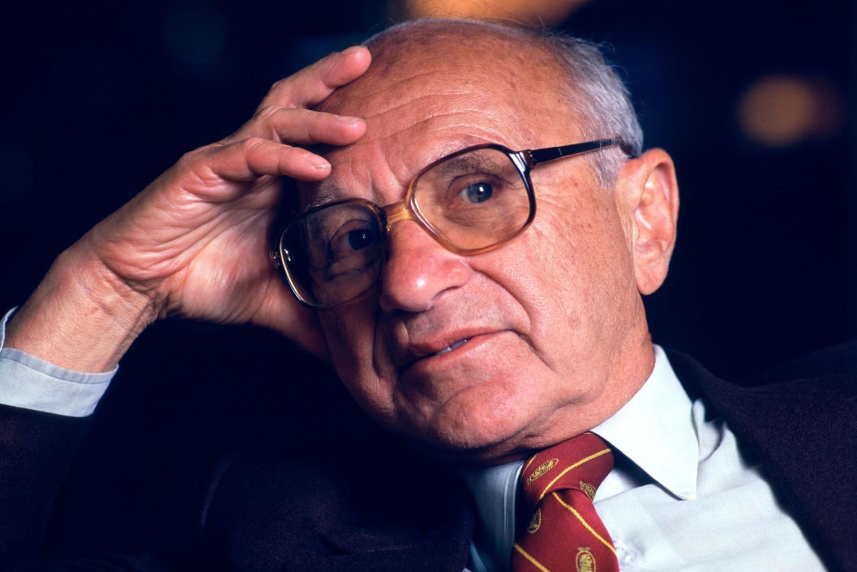 Američki ekonomista i nobelovac Milton Fridman (Foto: Chuck Nacke/Alamy)