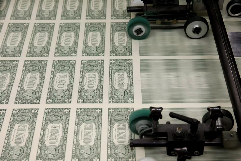 Proces štampanja dolara (Foto: Reuters)