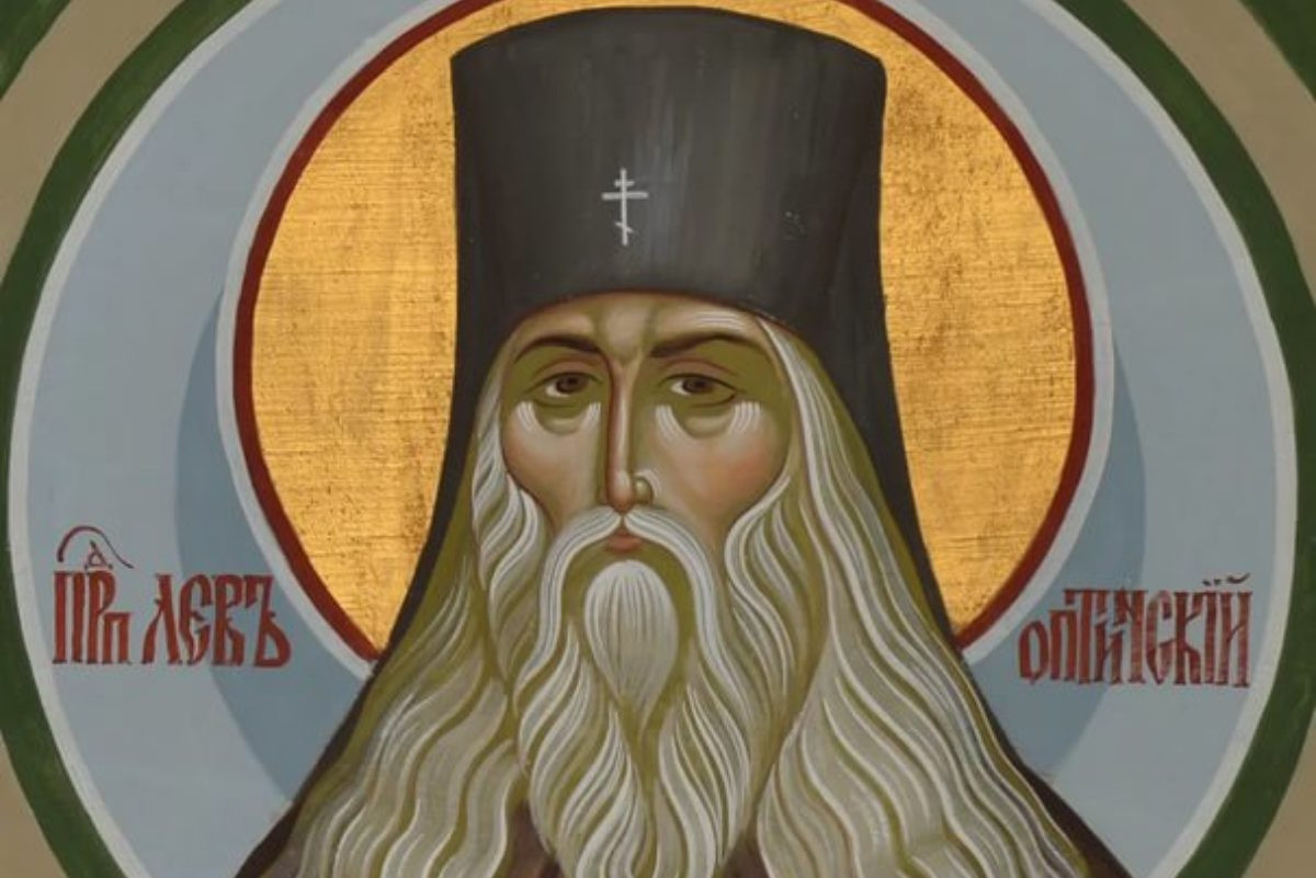 Freska Svetog Lava Optinskog (Foto: blagochin.ru)