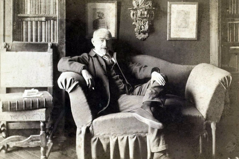 Francuski romanopisac Žorž-Šarl Uismans (Foto: Dornac/Wikimedia)