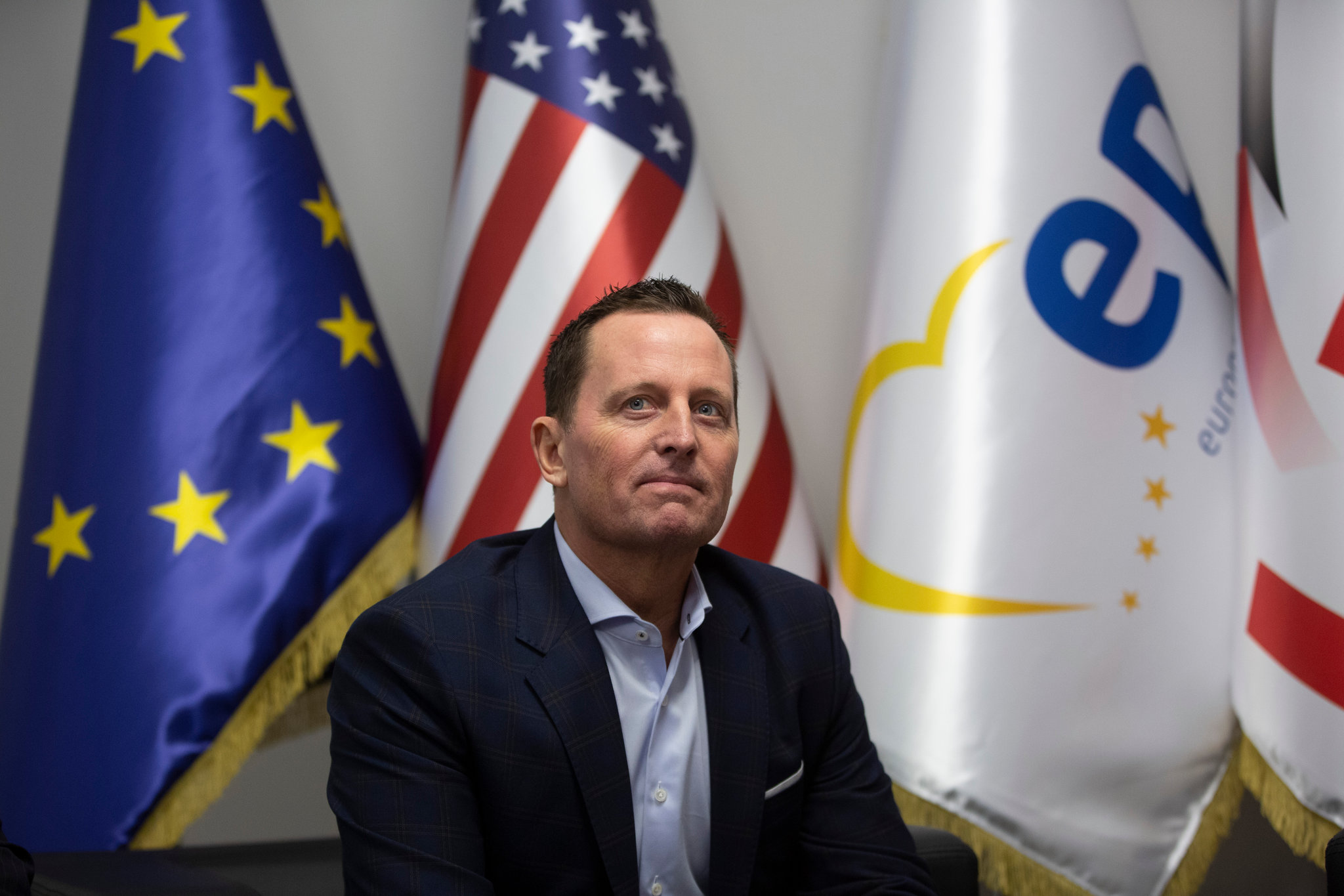 Specijalni izaslanik predsednika SAD za Kosovo i Metohiju Ričard Grenel (Foto: Visar Kryeziu/Associated Press)