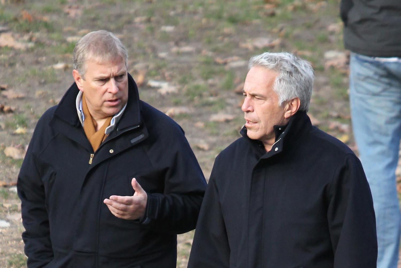 Принц Ендру, војвода од Јорка у току шетње разговара са Џефријем Епстином у Централ парку у Њујорку, 2010. године (Фото: Jae Donelly)