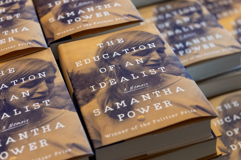 "Knjige Samante Pauer ""Vaspitanje jednog idealiste"" (Foto: Scott C. Soderberg/Michigan Photography)"