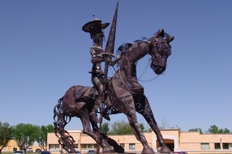 Spomenik Don Kihotu u Čivavi, Meksiko (Foto: Diógenes el Filósofo/Wikimedia)