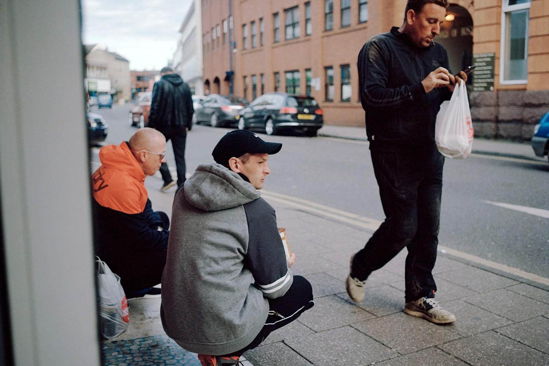 Istočnoevropski imigranti u Bostonu u Linkolnširu, gradu sa procentualno najvećim brojem ljudi iz Istočne Evrope u Velikoj Britaniji (Foto: Deividas Buivydas)