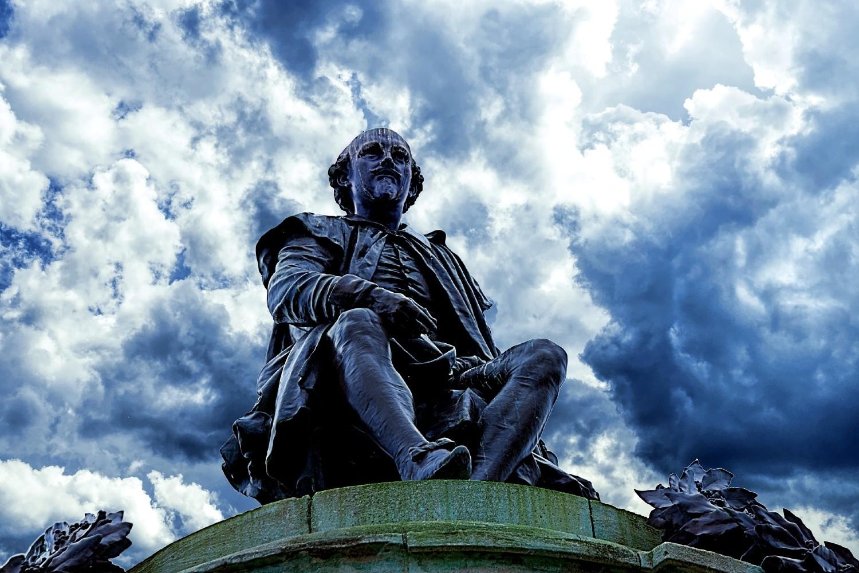Статуа Вилијама Шекспира у Стратфорду на Ејвону, његовом родном месту (Фото: Nottmpictures/Pixabay.com)